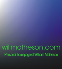 willmatheson.com logo for Spring 2001